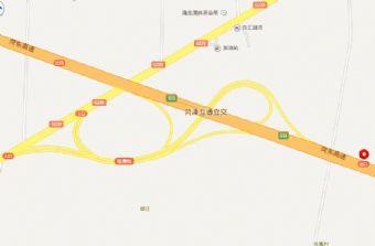 菏泽牡丹园位置分布及行车路线图