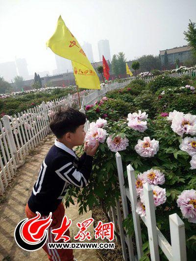 向阳花小记者探访曹州百花园